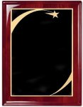 Rosewood Piano Finish Corporate Plaque Achievement Awards