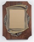 Walnut Cast Corporate Plaque Achievement Awards
