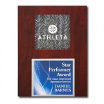 Silver Opaline Plaque Achievement Awards