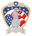 Signature Series National Guard Shield Award All Trophy Awards