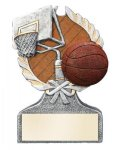 Basketball Multi Color Sport Resin Figure All Trophy Awards