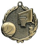 Wreath Basketball Medals All Trophy Awards