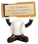Ball Head Baseball Resin Figures All Trophy Awards