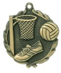 Wreath Netball Medals All Trophy Awards