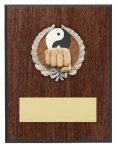 Karate Resin Plaque Mount Award Baseball Trophy Awards