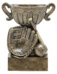 Sport Cup Baseball Antique Gold Baseball Trophy Awards