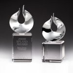 Solid Flame Crystal Award Fire and Safety Awards