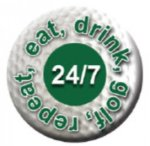 Ball Marker 24/7 Golf Awards
