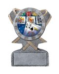 Action Sport Mylar Holder Racing Trophy Awards