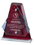 Arrowhead Glass Mounted with Rosewood Back Sales Awards