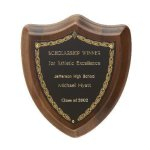 Laurel Shield Plaque Sales Awards