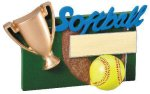 Winners Cup Resin Softball Softball Trophy Awards