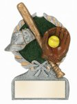 Softball Multi Color Sport Resin Figure Softball Trophy Awards