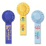 Fun Rosette Award Ribbon Track Trophy Awards