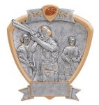 Signature Series Trap Shooter Shield Award Trapshooting Trophy Awards