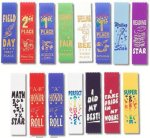 Pinked Cut Scholastic Award Ribbon Volleyball Trophy Awards