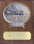 Teamwork Resin Plaque Mount Award Wrestling Trophy Awards